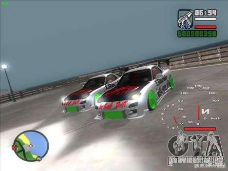 Mazda RX-7 Drift Version для GTA San Andreas вид справа