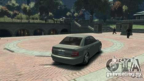 Audi S4 для GTA 4 вид слева