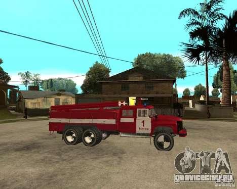 Зил 133ГЯ АЦ пожарный для GTA San Andreas вид справа