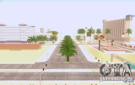 HQ Асфальт в Лас-Вентурасе для GTA San Andreas третий скриншот