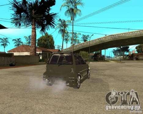 OKA 1111 Z.V.E.R. Tuning для GTA San Andreas вид сзади слева