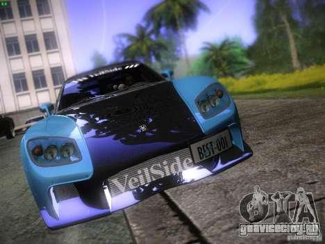 Mazda RX 7 Veil Side для GTA San Andreas вид сверху