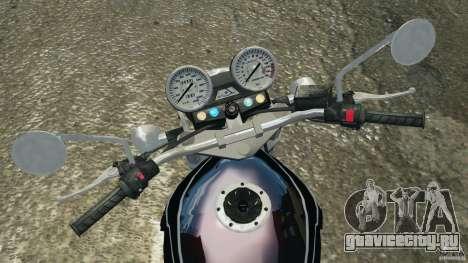 Kawasaki Zephyr для GTA 4 вид сзади