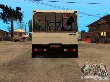 ЛиАЗ 5256.00 для GTA San Andreas вид сбоку