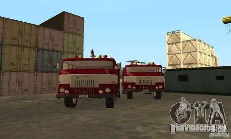 IFA Пожарная для GTA San Andreas вид слева