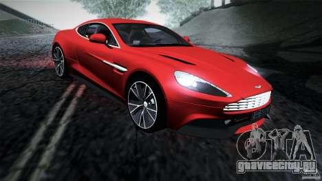 Aston Martin Vanquish V12 для GTA San Andreas вид слева