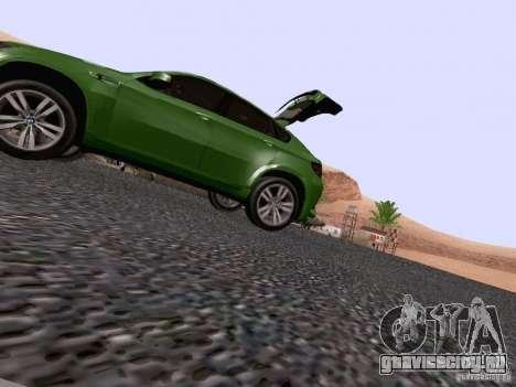 BMW X6 LT для GTA San Andreas вид сверху