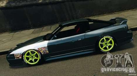 Nissan 240SX JDM для GTA 4 вид сзади