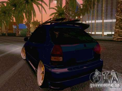 Honda Civic JDM Hatch для GTA San Andreas вид справа