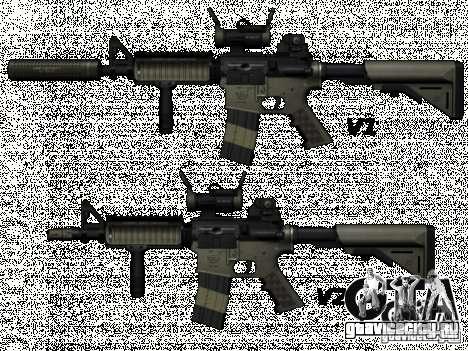 M4 из Call of Duty: Modern Warfare для GTA San Andreas