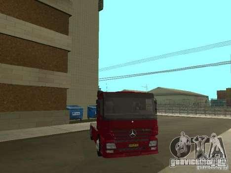 Mercedes Actros Tracteur 3241 для GTA San Andreas вид изнутри
