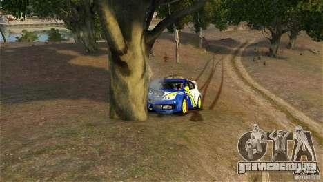 Subaru Impreza WRX STI Rallycross BFGoodric для GTA 4 вид сбоку