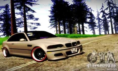 BMW M3 JDM Tuning для GTA San Andreas салон