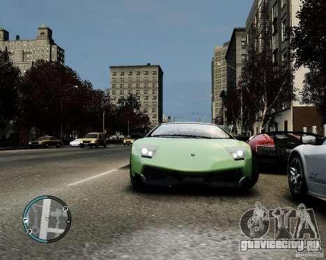 Lamborghini Murcielago LP 670-4 SuperVeloce 2010 для GTA 4 вид изнутри