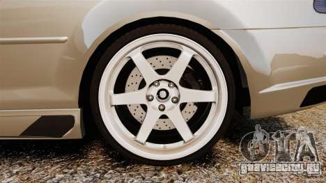 BMW M3 E46 для GTA 4 вид изнутри