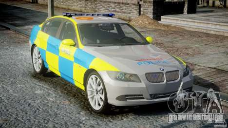 BMW 350i Indonesian Police Car [ELS] для GTA 4