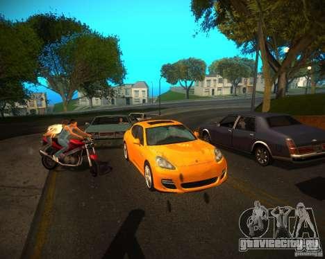 ENBSeries Realistic для GTA San Andreas четвёртый скриншот