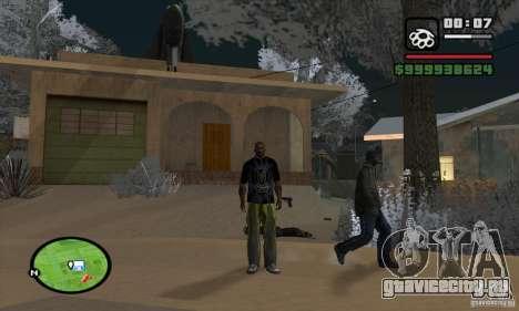 Monster energy suit pack для GTA San Andreas четвёртый скриншот