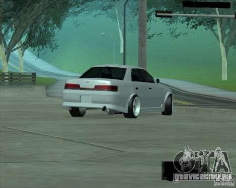 Toyota Mark II Tuning для GTA San Andreas вид справа