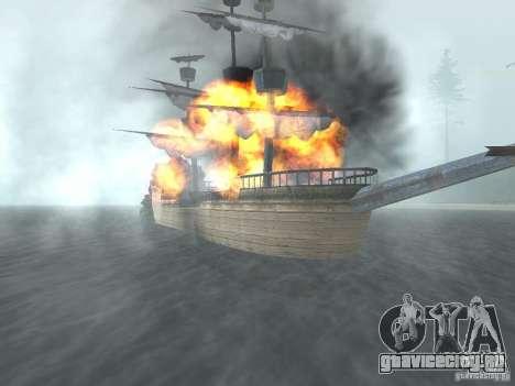 Пиратский корабль для GTA San Andreas третий скриншот