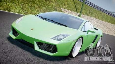 Lamborghini Gallardo LP 560-4 DUB Style для GTA 4 вид изнутри