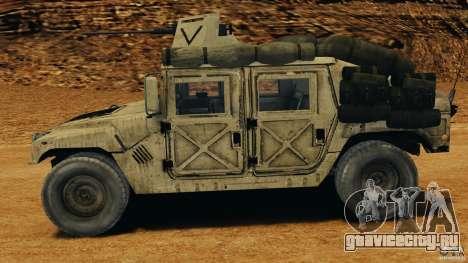 HMMWV M1114 v1.0 для GTA 4 вид слева