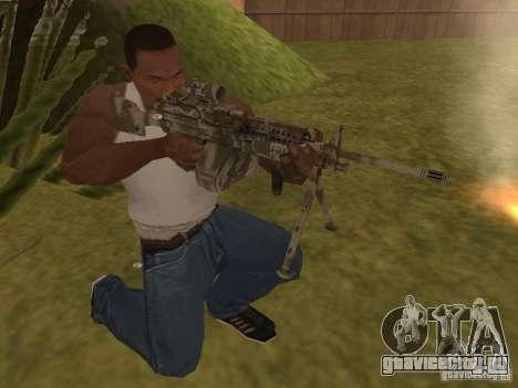 Пулемёт MK-48 для GTA San Andreas второй скриншот