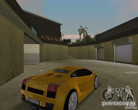Lamborghini Gallardo v.2 для GTA Vice City вид справа