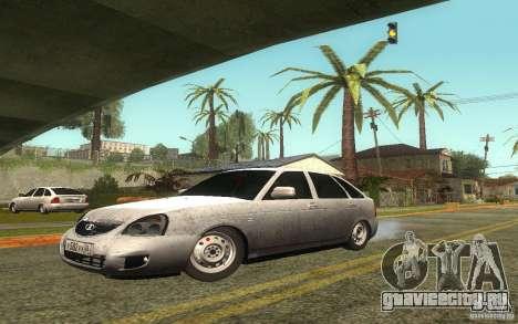 Lada 2172 Priora Хетчбек для GTA San Andreas вид сбоку