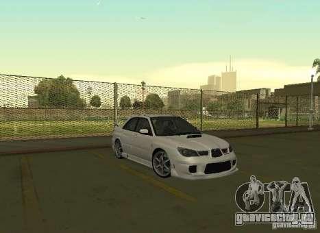 Subaru Impreza WRX STI-Street Racing для GTA San Andreas вид сбоку