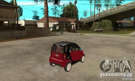 Smart для GTA San Andreas вид справа