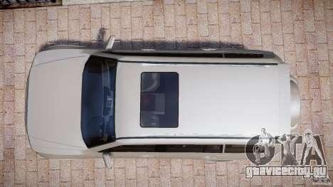 Mitsubishi Pajero Wagon для GTA 4 вид справа