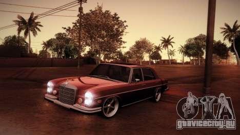 Mercedes Benz 300 SEL - Custom RC3D Edit для GTA San Andreas вид сверху