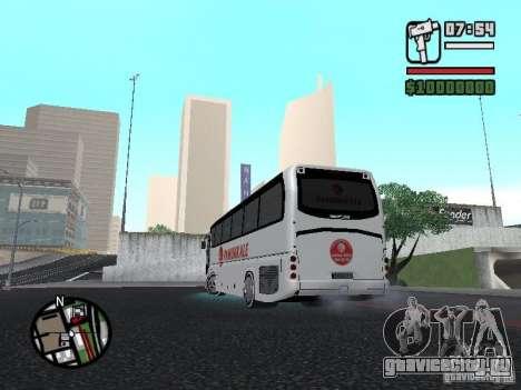 Neoplan Tourliner для GTA San Andreas вид слева