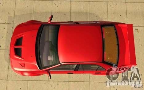 Mitsubishi Lancer Evo 6 для GTA San Andreas вид справа