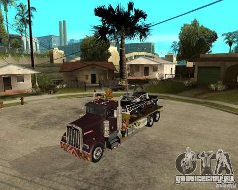 Kenworth W900 SALVAGE TRUCK для GTA San Andreas