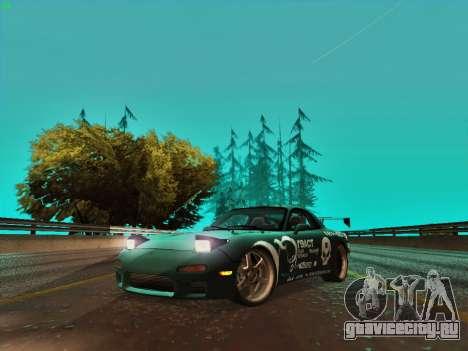 Mazda RX7 rEACT для GTA San Andreas вид слева