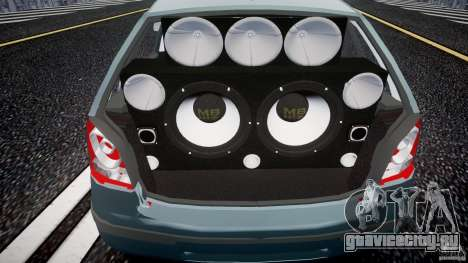 Volkswagen Polo 1998 для GTA 4 вид сзади