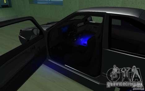 Тойота Королла для GTA San Andreas вид сзади