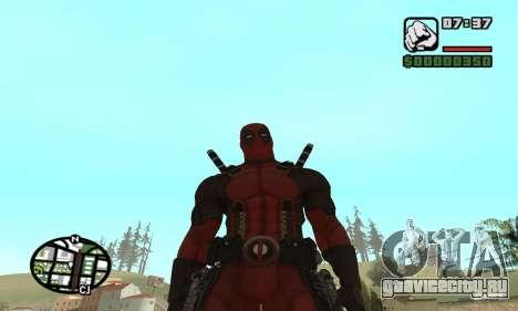 Dead Pool для GTA San Andreas шестой скриншот