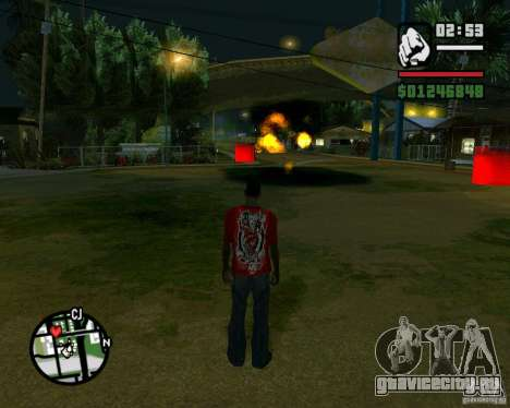 Wrecking ball для GTA San Andreas шестой скриншот