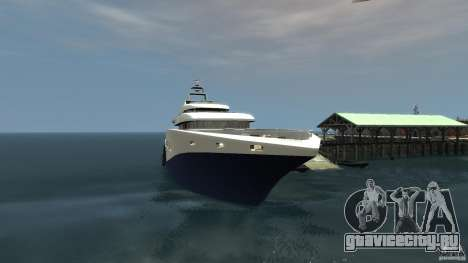 Yacht v1 для GTA 4 вид слева