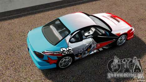 Nissan Silvia S15 Evil Empire для GTA 4 вид справа