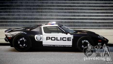 Ford GT1000 Hennessey Police 2006 [EPM][ELS] для GTA 4