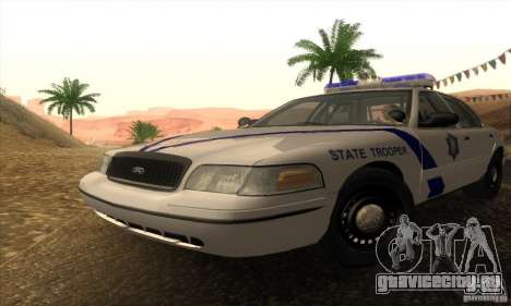 Ford Crown Victoria Arkansas Police для GTA San Andreas