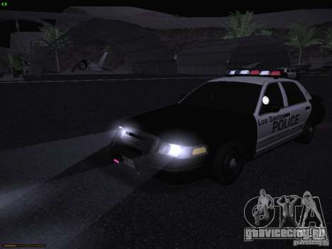 Ford Crown Victoria Police 2003 для GTA San Andreas вид сбоку