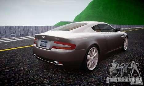Aston Martin DB9 2005 V 1.5 для GTA 4 вид справа