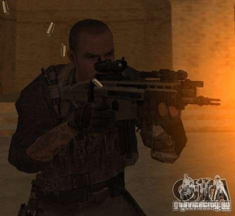 Юрий из Call of Duty Modern Warfare 3 для GTA San Andreas третий скриншот