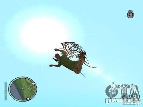 Wings - Крылья для GTA San Andreas четвёртый скриншот