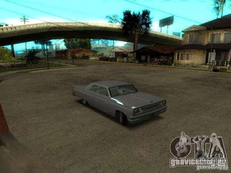 Voodoo из GTA IV для GTA San Andreas вид слева
